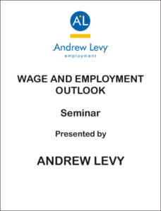 andrew levy wage and employment outlook